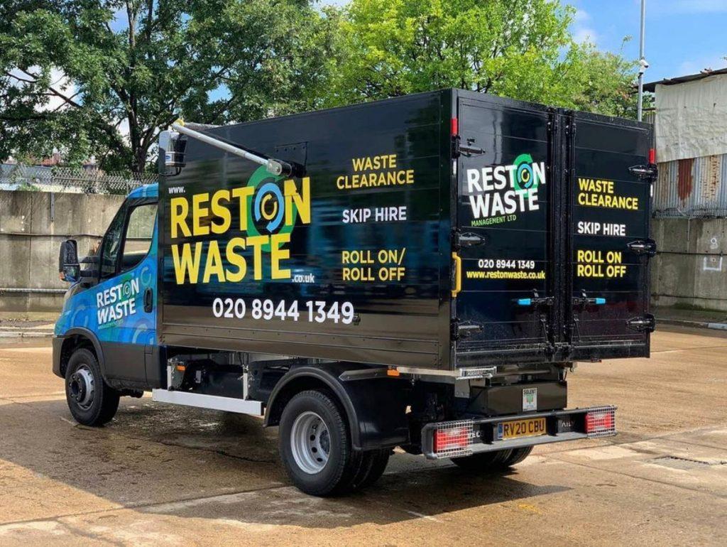 Reston Waste removal van